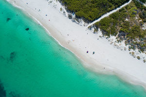 photographers/neal pritchard photography/aerial white sandy beach