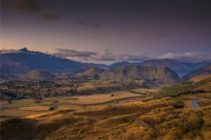 travel/southern lightscapes australia/coronet peak dawn just west queenstown south