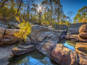 travel/southern lightscapes australia/spring creek canyon woolshed falls mount pilot