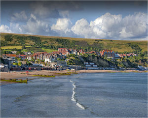 travel/southern lightscapes australia/view coastline swanage dorset england united